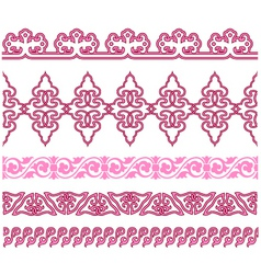 oriental traditional pattern vector image vector image