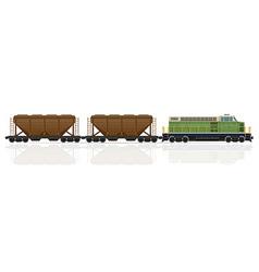 railway train 26 vector image vector image