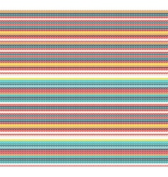 Colorful Knitted Seamless Pattern vector image vector image