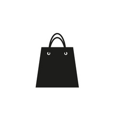 bag of icon vector image