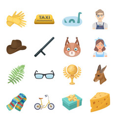 cleaning animals sports and other web icon in vector image