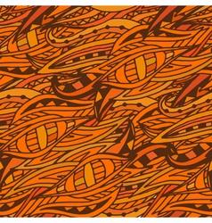Fullcolor fantastic doodle pattern vector