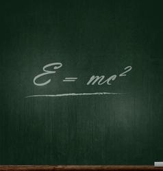Green Blackboard vector