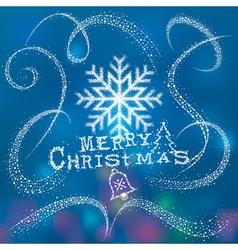 Magic Christmas Snow vector
