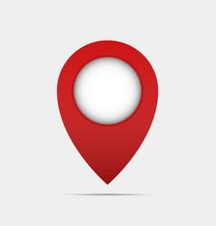 pin pointer icon vector image