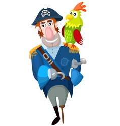 Pirate cartoon vector