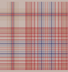 Retro check plaid pixel seamless pattern vector