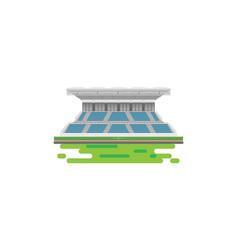 sport stadium grandstand to cheering sport vector image