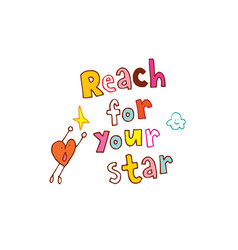 Reach for your star vector