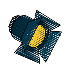 Light projector icon image vector