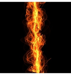 line of fire vector image vector image