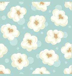 popcorn colorful pattern vector image
