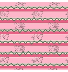 Turtle pattern Pattern in decorative vector image