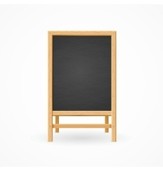 Menu Black Board Isolated vector image