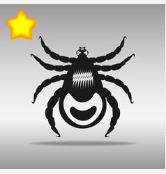mites black icon button logo symbol vector image vector image