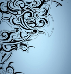 tattoo print background vector image