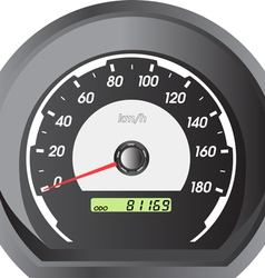 car speedometers for racing design vector image