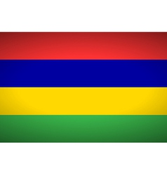 Flag of Mauritius vector