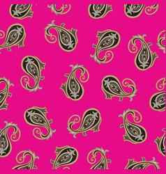 floral pattern flourish oriental ethnic vector image