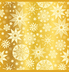 Gold yellow abstract doodle stars seamless vector