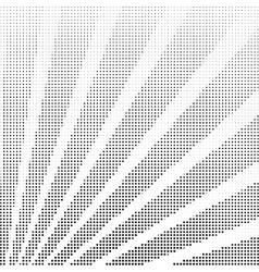 Halftone rays vector