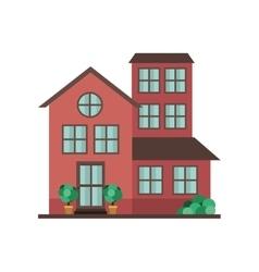 Home building icon vector