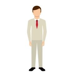 husband wedding dress isolated icon design vector image vector image