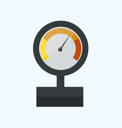 pressure sensor manometer tool icon or vector image