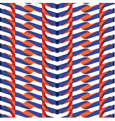 red and blue line plastic pattern vector image