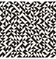 Seamless Jumble Triangles Geometric Pattern vector