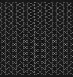 subtle background seamless pattern with chains vector image