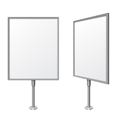 White Board vector image