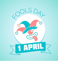 1 April Fools Day vector image vector image