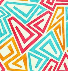 Funky maze seamless pattern vector