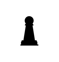 chess pawn icon element of chess for mobile vector image