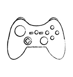 controller video game icon image vector image