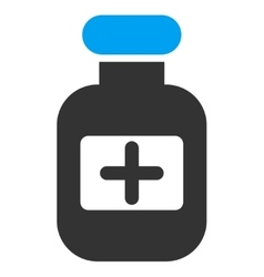Drugs Bottle Icon vector image