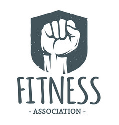 Fitness association image vector