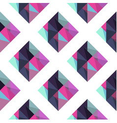 Geometric pattern with rombus vector