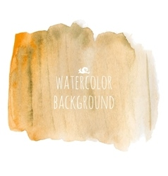 Orange Watercolor Background vector