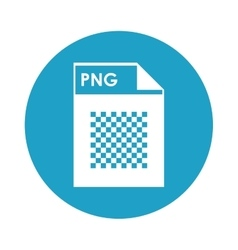 PNG file icon vector
