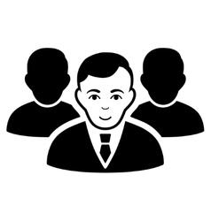 Team Flat Icon vector