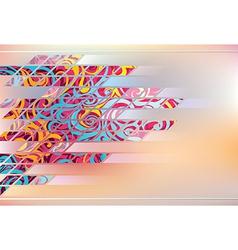Web design backdrop vector image