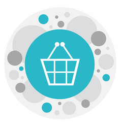Of logical symbol on shopping vector