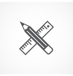 Design tools icon vector image vector image