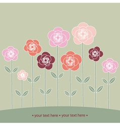 from roses vector image vector image