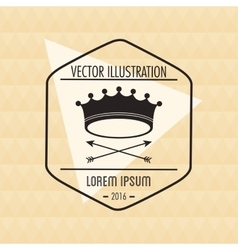 Hipster and vintage style icon design vector image vector image