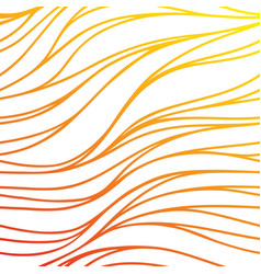 color wave sunny background gradient red abstract vector image