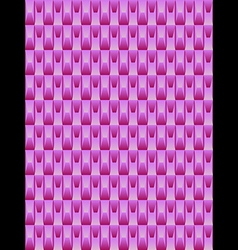 Pink texture geometric seamless background vector image vector image
