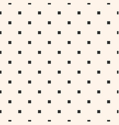 vintage geometric seamless pattern with squares vector image